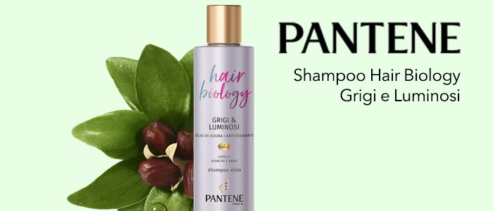 Pantene Shampoo Grigi&Luminosi Pro-V Hair Biology
