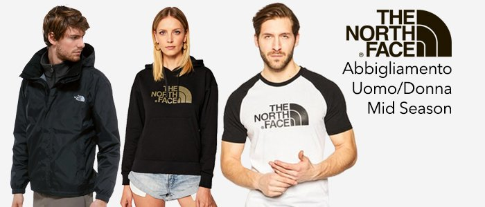 The North Face: Felpe, Giacche e T-shirt