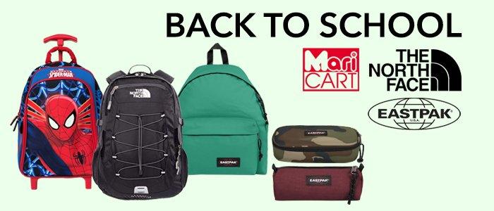 Back To School: Eastpak, Maricart e The North Face zaini