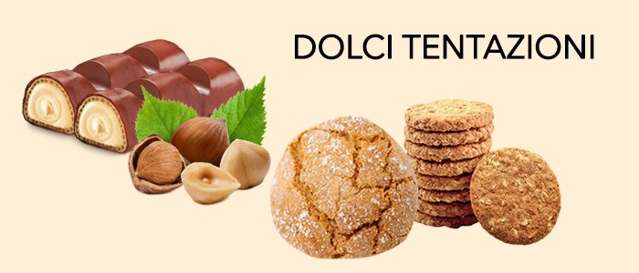 Dolci Promozioni: Nocciolotto, amaretti e biscotti