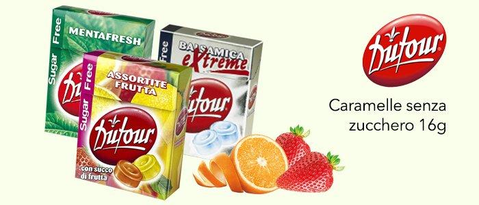 Dufour Caramelle Senza Zucchero 16g