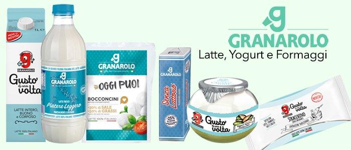 Granarolo: Latte, Yogurt e Formaggi