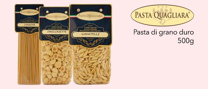 Pasta Quagliara: pasta di grano duro 500g