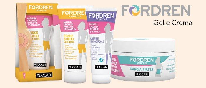 Zuccari Fordren Cosmetici: Gel e Crema