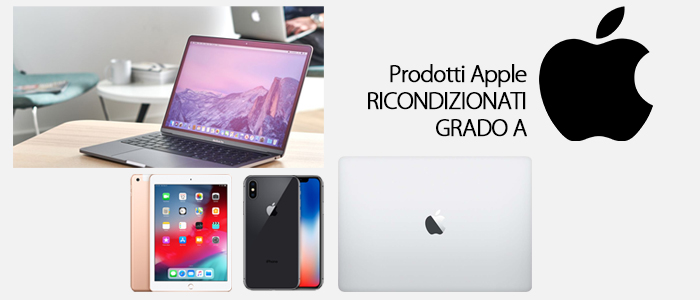 Apple: iPhone, iPad e MacBook ricondizionati