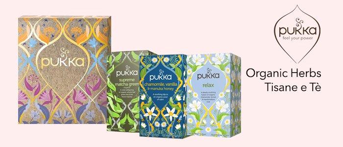 Pukka Organic Herbs: Tisane e Tè