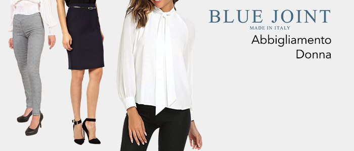 Blue Joint: abbigliamento donna Made in Italy