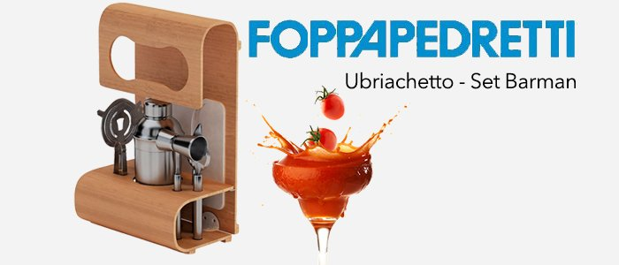 Foppapedretti Ubriachetto: Set Barman