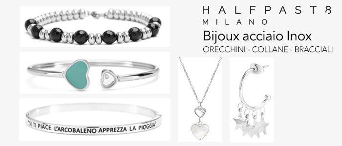HALFPAST8 Bijoux A/I 2020-21: bracciali, collane e orecchini