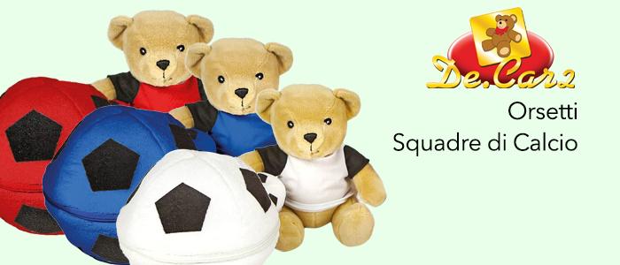 Ball Surprise: Orsetti Squadre di Calcio