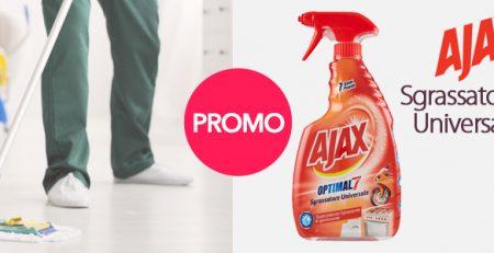 Speciale Week-End Ajax: Promozione Spray Sgrassatore Universale 600ml