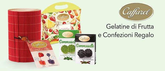Caffarel: Gelatine di Frutta in Confezioni Regalo