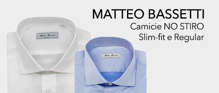 Matteo Bassetti Camicie Uomo
