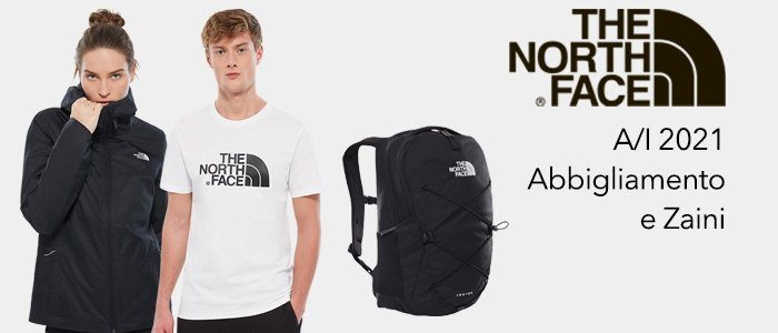 The North Face A/I 20-21: abbigliamento e zaini