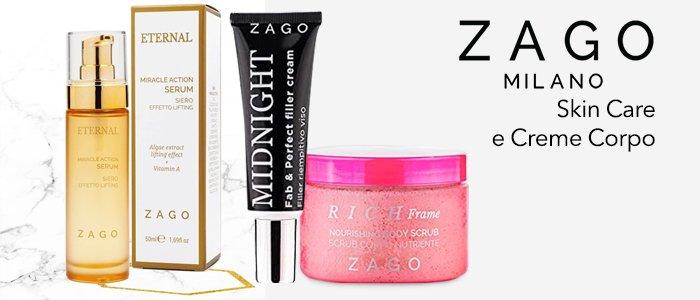 Zago Milano: Skin Care e Creme Corpo