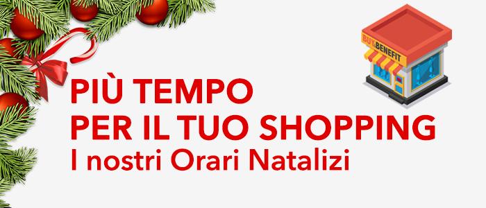 Buy&Benefit Store: orari natalizi