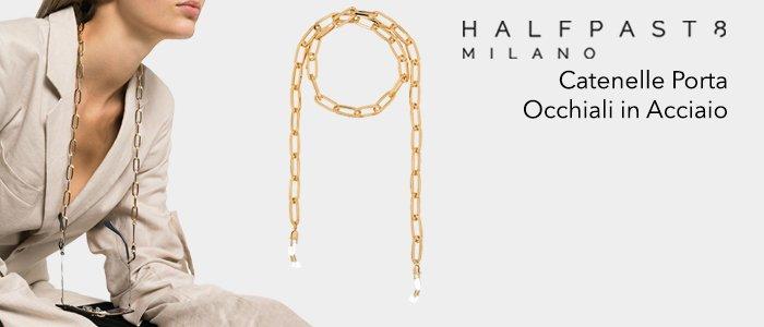 HALFPAST8: Catenelle Porta occhiali in Acciaio
