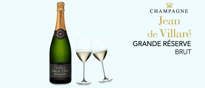 PROMO: Champagne Jean de Villaré Grande Réserve Brut