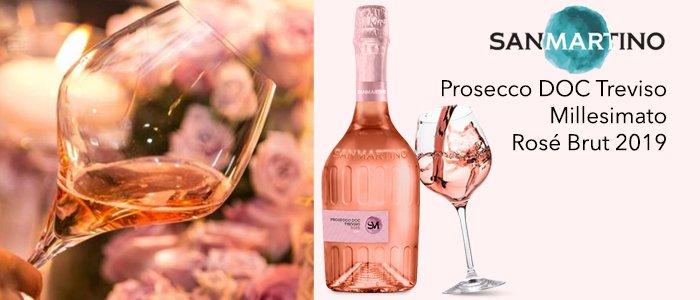 San Martino: Prosecco DOC Treviso Millesimato Rosé Brut 2019