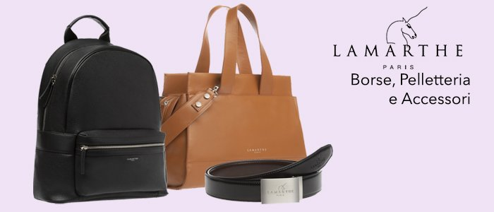Lamarthe Paris: Borse, Pelletteria e accessori