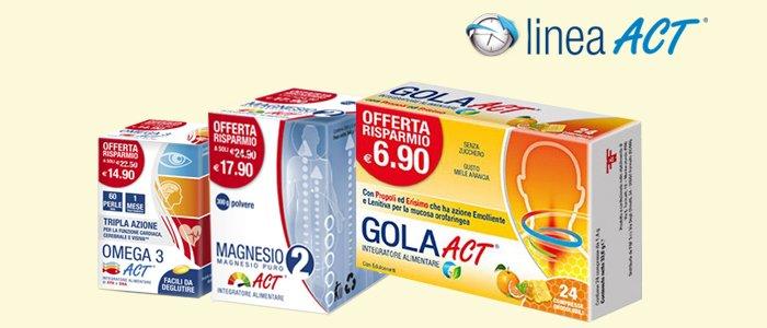 LineaAct Integratori per corpo e mente