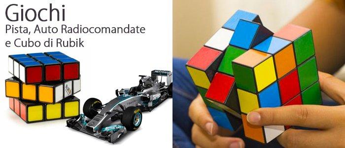 Pista, Auto Radiocomandate e Cubo di Rubik