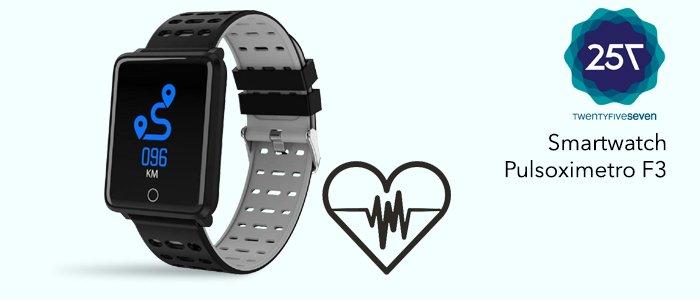 Twentyfiveseven Smartwatch Pulsoximetro F3