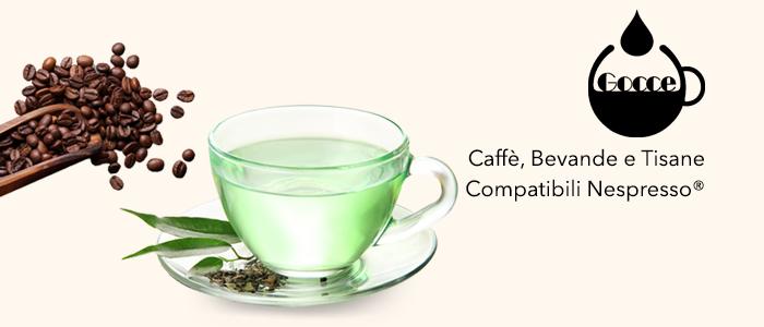 Gocce di Caffè: Caffè, Bevande e Tisane Compatibili Nespresso