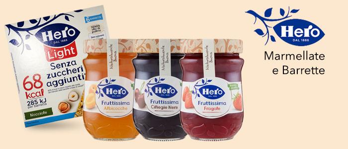 Hero: Confetture, Marmellate e Barrette
