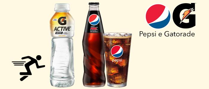 Pepsi & Gatorade: Bibite in bottiglia e lattina