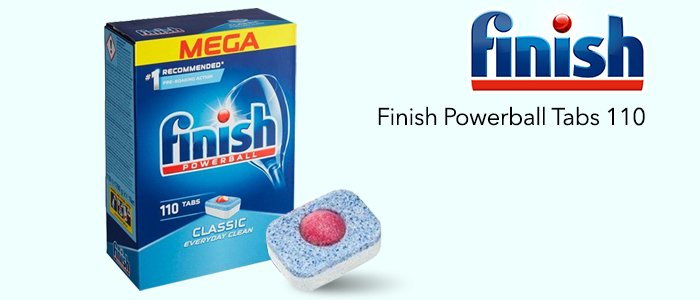 Finish Powerball Classic Tabs 110