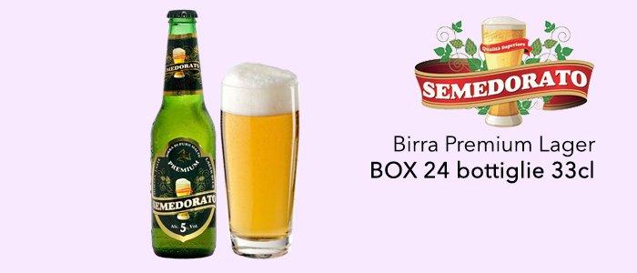 Promozione: Birra Semedorato BOX 24 Bottiglie