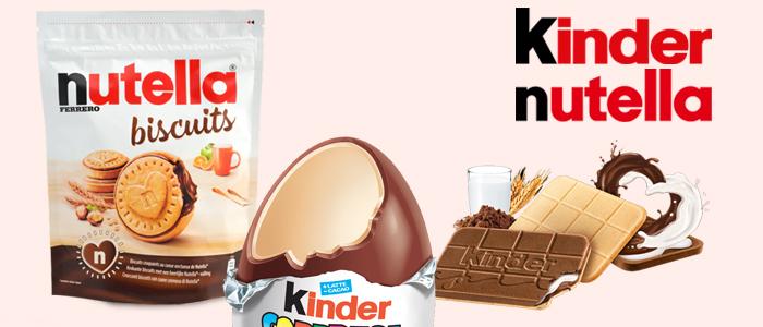 Nutella® Biscuits, Kinder Sopresa e Cards