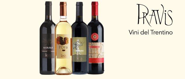 Azienda Agricola Pravis: Vini del Trentino