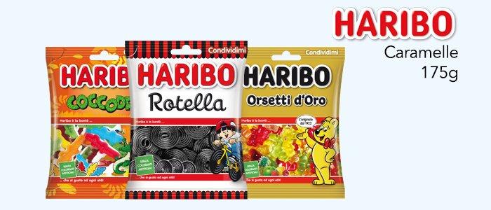 Haribo Caramelle Pack 175g