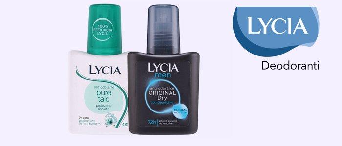Lycia Deodoranti Spray