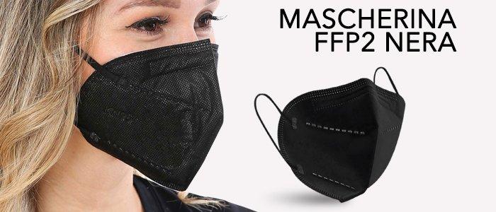 Mascherine FFP2 Antiappannamento Nere