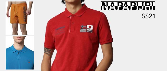 Napapijri abbigliamento: collezione Primavera/Estate 2021