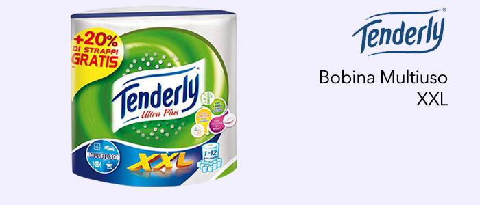 Tenderly: Bobina XXL Carta Multiuso