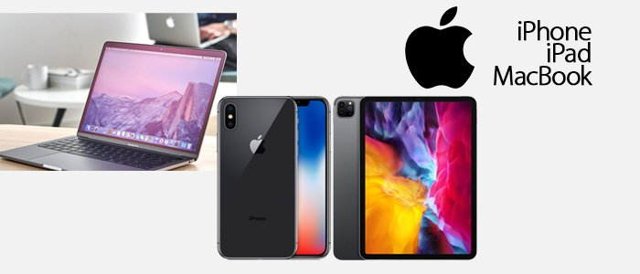 Apple: iPad, iPhone e MacBook ricondizionati