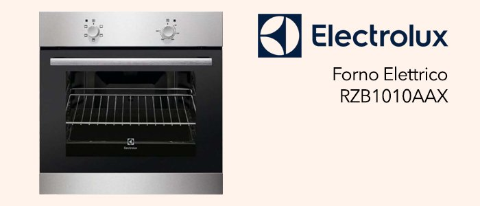 Electrolux Forno RZB1010AAX Classe A