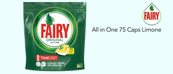 Fairy Original All in One: 75 Caps Limone