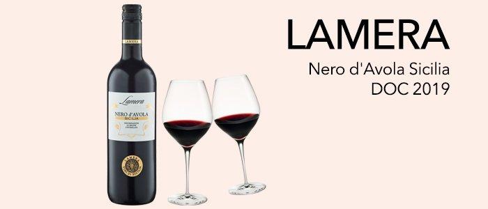 PROMO Lamera Nero d'Avola Sicilia DOC 2019 6x750ml