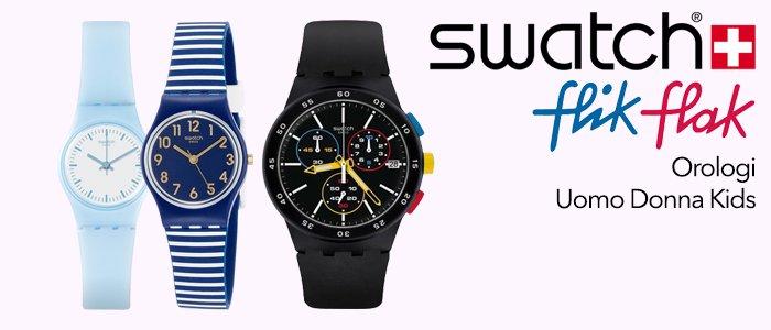 Swatch e Flik Flak Orologi