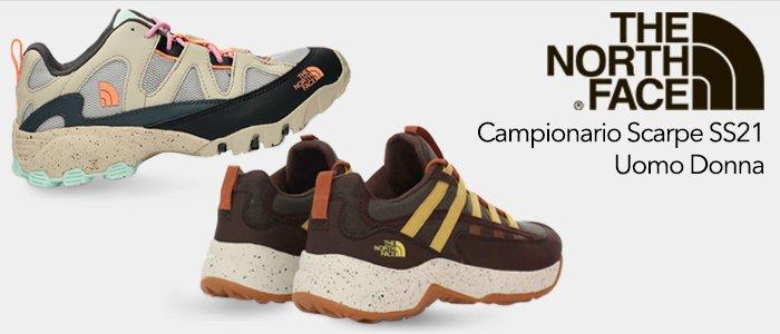 The North Face: Campionario Scarpe SS21