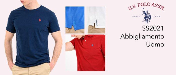 U.S. Polo Assn. T-shirt, Polo e Camicie SS21