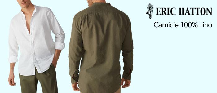 Eric Hatton Camicie 100% Lino