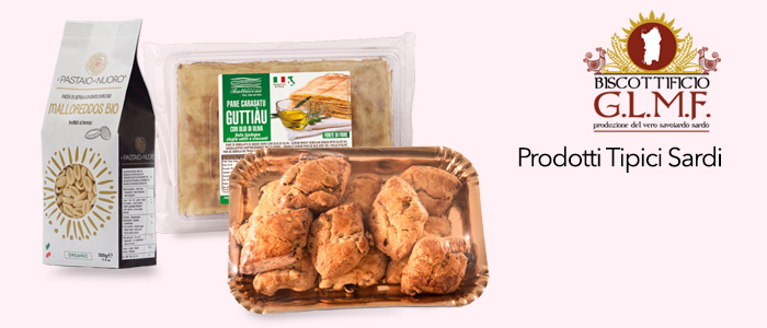 Prodotti Tipici Sardi: Malloreddos, Fregola, Pane Carasau, Guttiau e Papassinos
