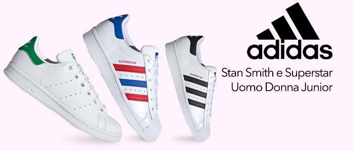 Adidas: Sneakers Stan Smith e Superstar