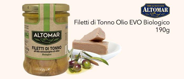 Altomar Filetti di Tonno Olio BIO 190g